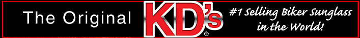 Original KD's - The #1 Biker Sunglasses in the World